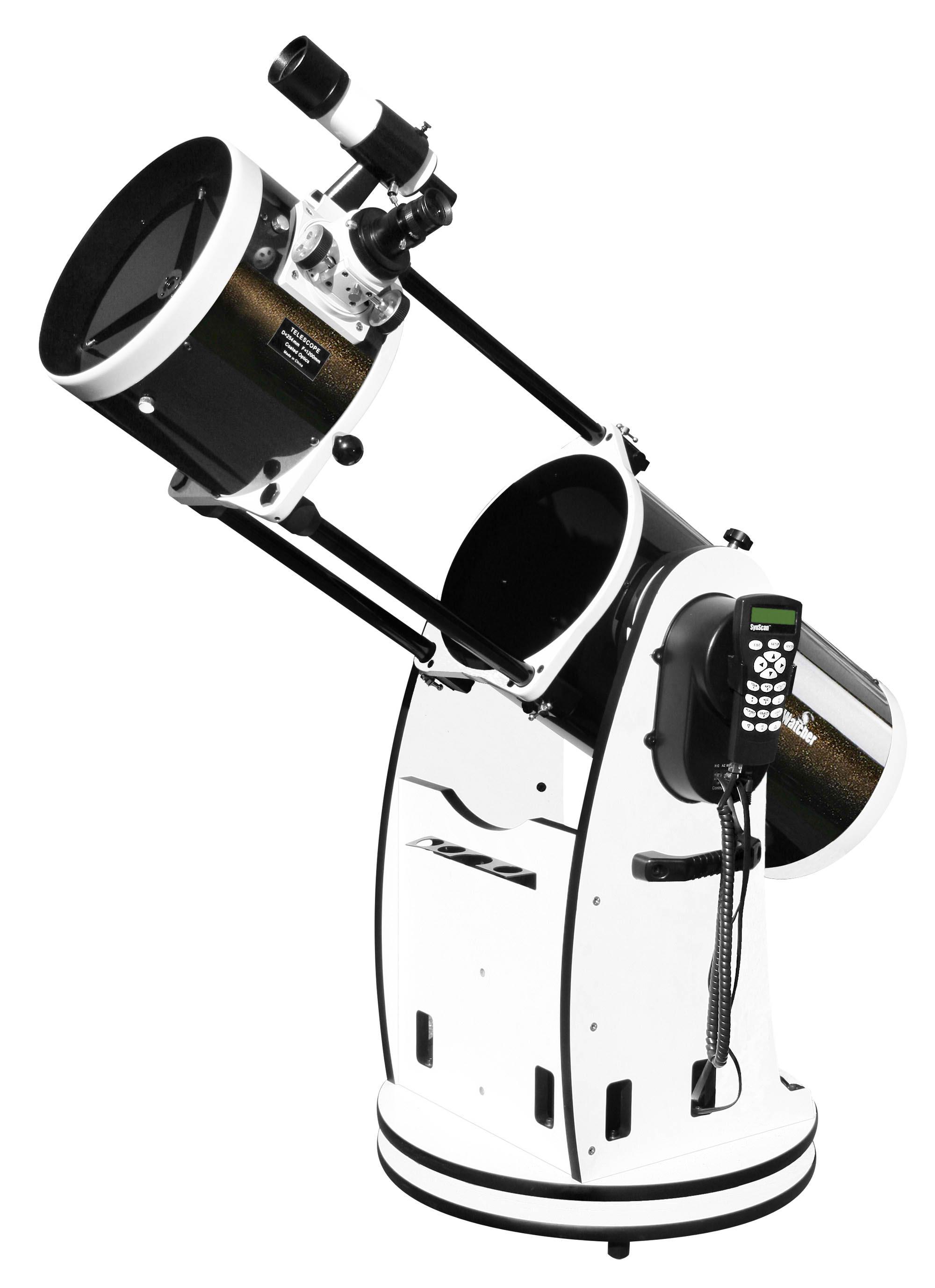 Skywatcher 10 inch f4.8 Newtonian Reflector on a GoTo Dobsonian Mount